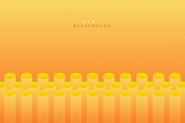 Fundo amarelo fluido vibrante abstrato