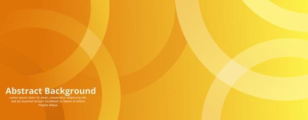 Fundo amarelo geométrico mínimo