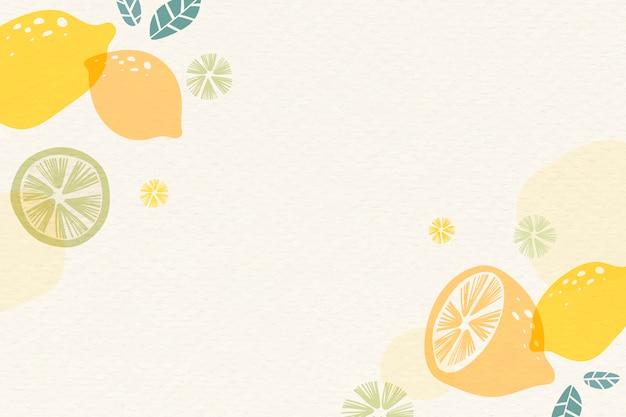 Fundo amarelo limão