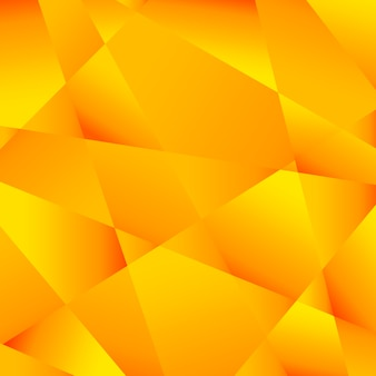 Fundo amarelo poligonal