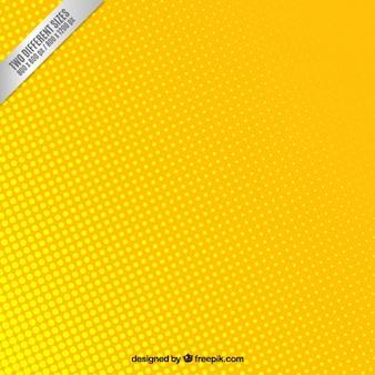Fundo amarelo pontilhado