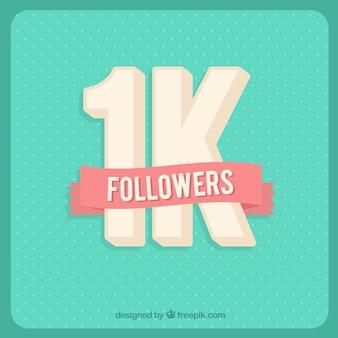 Fundo antigo bonito de 1k seguidores
