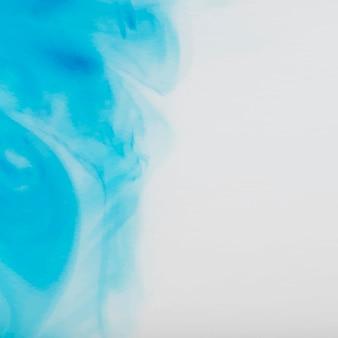 Fundo aquarela abstrato azul