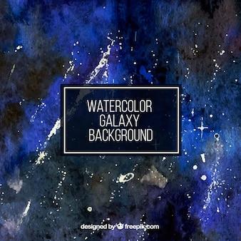Fundo aquarela abstrato do universo