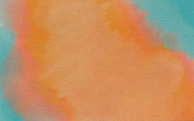 Fundo aquarela abstrato e colorido
