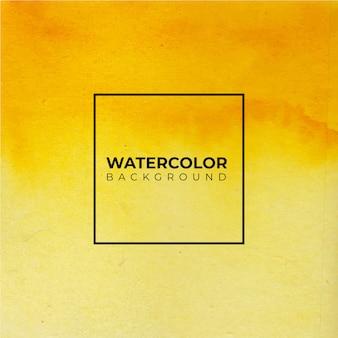 Fundo aquarela abstrato laranja amarelo para fundo de texturas