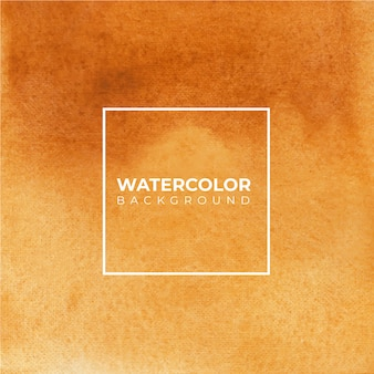 Fundo aquarela abstrato marrom, pintura à mão. salpicos de cor no papel