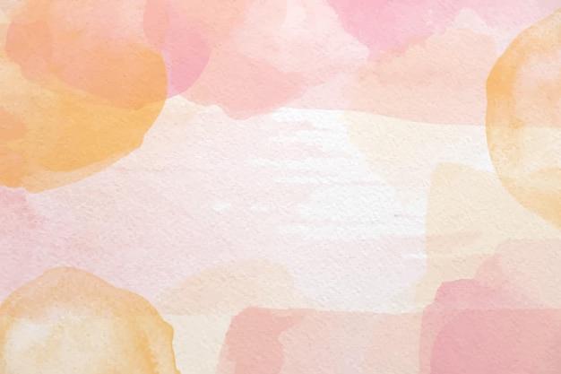 Fundo aquarela abstrato pintado à mão