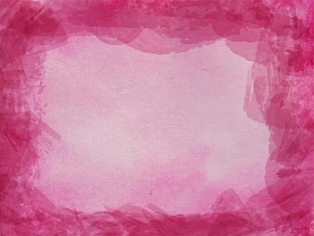 Fundo aquarela abstrato rosa para fundo de texturas