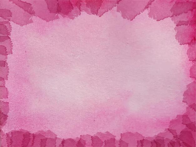 Fundo aquarela abstrato rosa para texturas de fundo