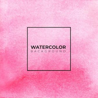 Fundo aquarela abstrato rosa, pintura à mão. salpicos de cor no papel