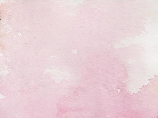 Fundo aquarela abstrato roxo, pintura à mão. salpicos de cor no papel