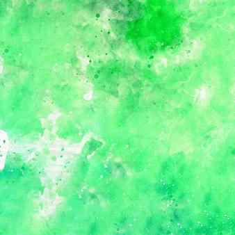 Fundo aquarela abstrato verde