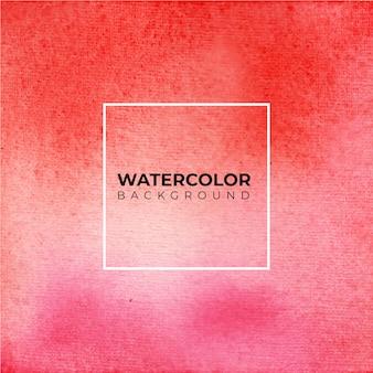 Fundo aquarela abstrato vermelho e rosa, pintura à mão. salpicos de cor no papel