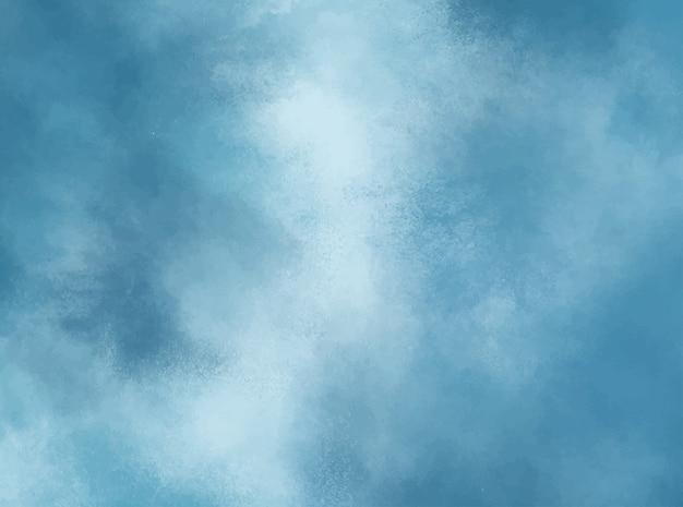 Fundo aquarela azul pastel. textura grunge pintura de arte digital