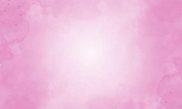 Fundo aquarela com cor rosa.