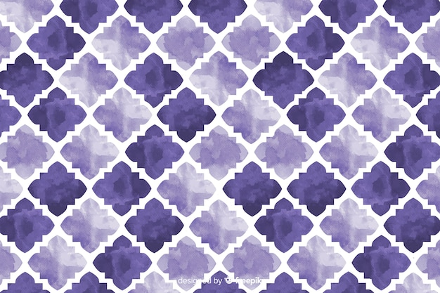 Fundo aquarela de mosaico