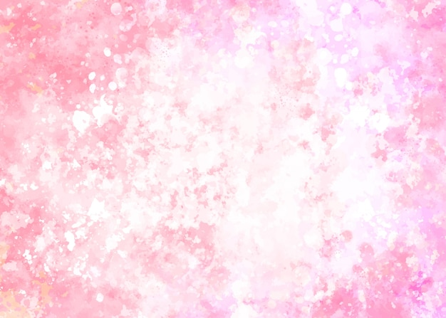 Fundo aquarela gradiente rosa