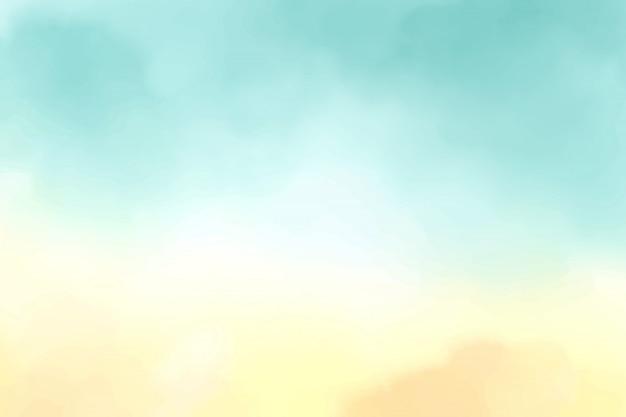 Fundo aquarela gradiente