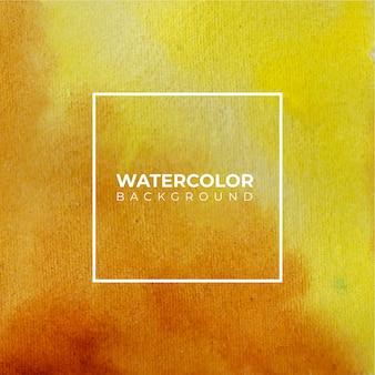Fundo aquarela laranja amarelo