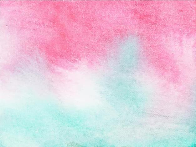 Fundo aquarela preto abstrato rosa azul. é uma mão desenhada.