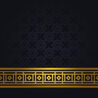 Fundo árabe elegante
