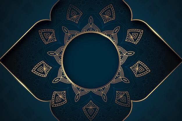 Fundo árabe realista