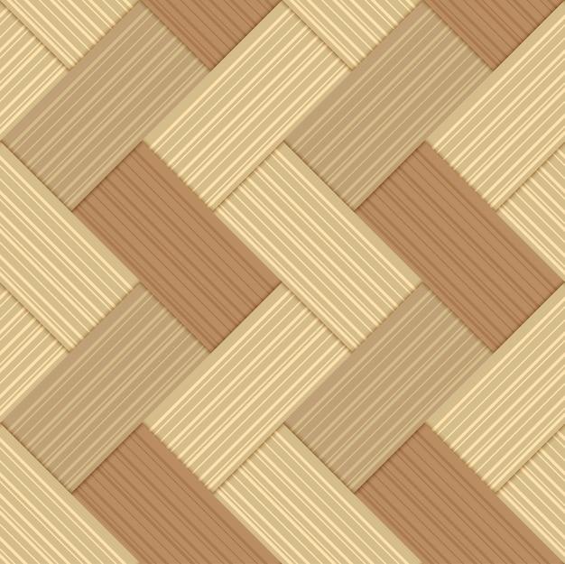 Fundo artesanal de bambu padrão sem emenda