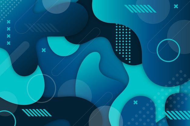 Fundo azul abstrato clássico