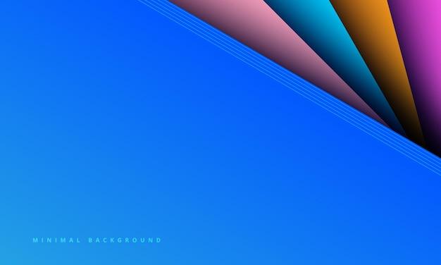 Fundo azul abstrato com arranhão criativo
