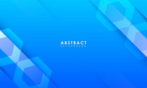 Fundo azul abstrato com conceito mínimo e limpo