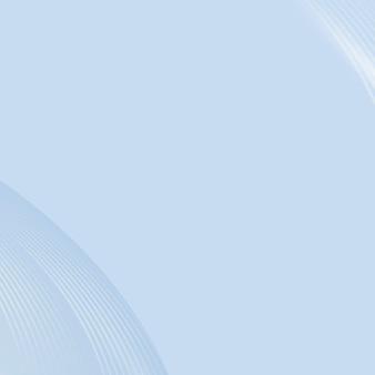 Fundo azul abstrato com linhas curvas