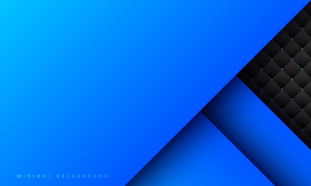 Fundo azul abstrato com scratch criativo e textura