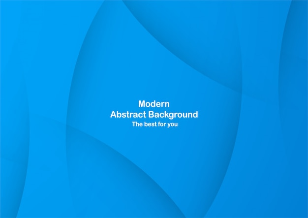 Fundo azul abstrato da curva com espaço da cópia para o texto branco.