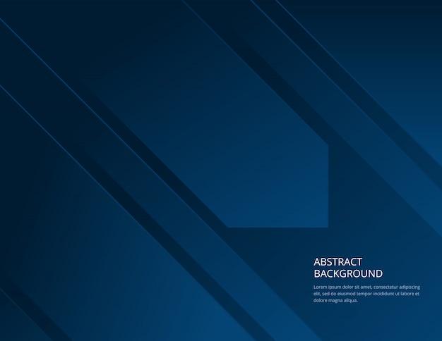 Fundo azul abstrato mínimo