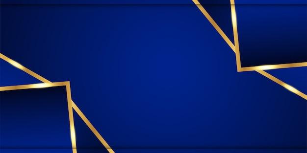 Fundo azul abstrato no estilo indiano superior.
