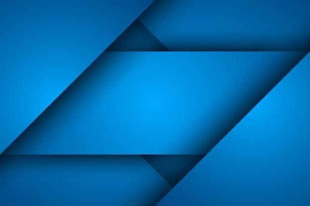 Fundo azul abstrato, sobreposição de triângulo