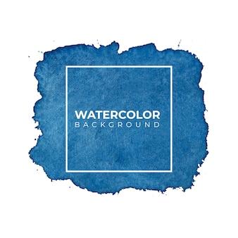 Fundo azul aquarela para texturas. fundo abstrato da aguarela.