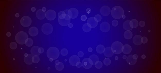 Fundo azul bokeh bonito. ilustração texturizada em meio-tom com gradiente.