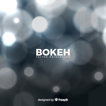 Fundo azul bokeh