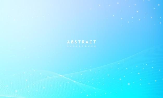 Fundo azul claro com elemento digital criativo.
