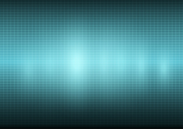 Fundo azul da tecnologia virtual.