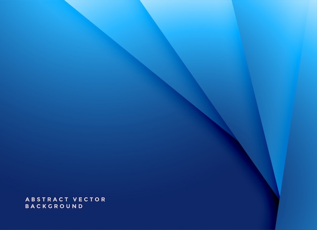 Fundo azul de formas geométricas mínimas