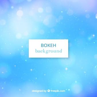 Fundo azul do bokeh
