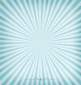 Fundo azul do sunburst