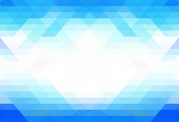Fundo azul elegante formas geométricas