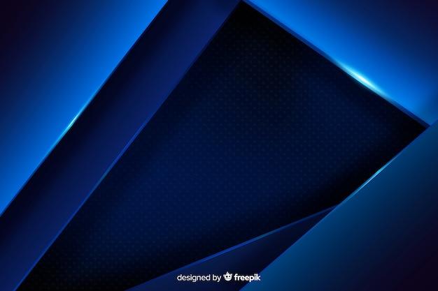 Fundo azul escuro com efeito metálico