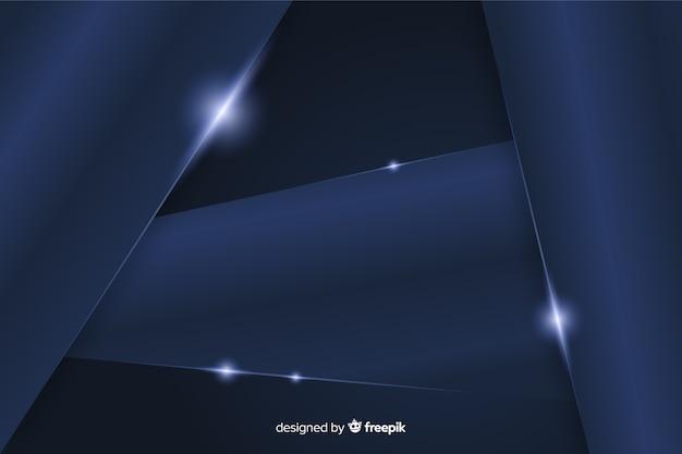 Fundo azul escuro metálico abstrato