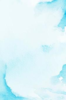 Fundo azul estilo aquarela
