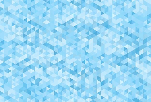 Fundo azul geométrico moderno abstrato.